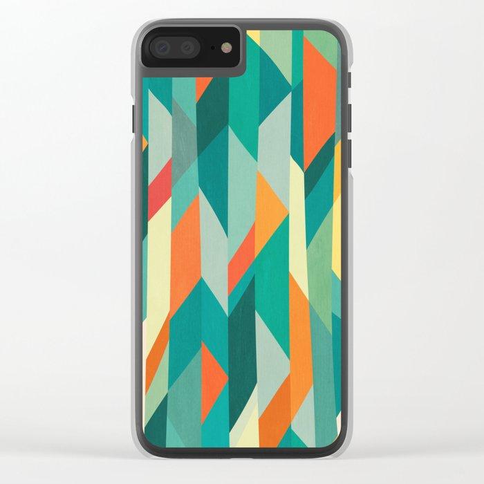 Broken Ocean Clear iPhone Case