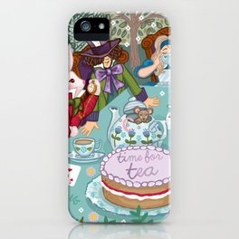 Time For Tea iPhone Case