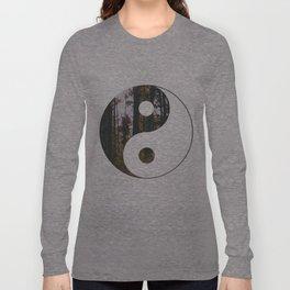 Yin Yang Forest Long Sleeve T-shirt