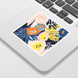 More design for a happy life - high Sticker