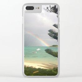 Rainbow on LHI Clear iPhone Case