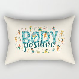 Body positive Rectangular Pillow