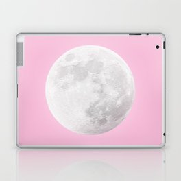 WHITE MOON + PINK SKY Laptop & iPad Skin