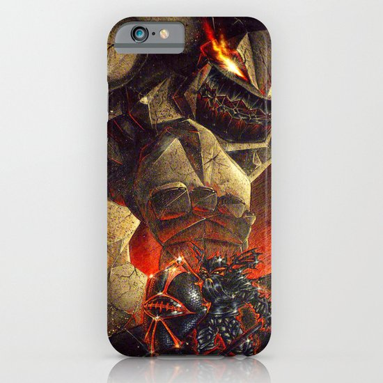 Earth Elemental battle iPhone & iPod Case