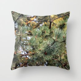 pine is fine Throw Pillow