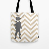 steam punk Tote Bags featuring Steam Punk by Jade Deluxe