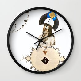 Seek and You Shall Find Wall Clock