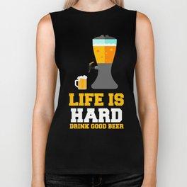 Gift For Beer Lover. TShirt For Parents. Biker Tank