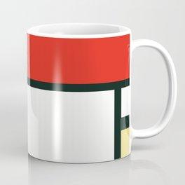 Composition II en rouge, bleu et jaune, Piet Mondrian, 1930 Coffee Mug
