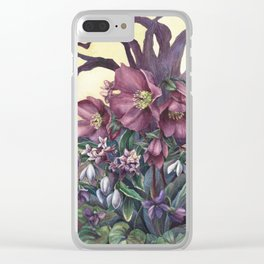 Woodland II Clear iPhone Case