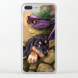 Donatello Clear iPhone Case