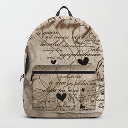 Ich liebe Dich -  I love you Backpack
