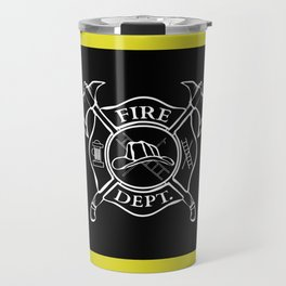 Firefighter Home Travel Mug