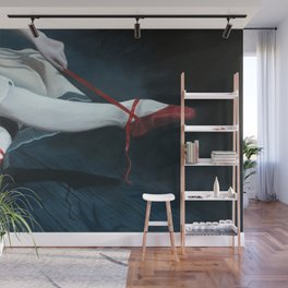 The Red Shoes Wall Mural
