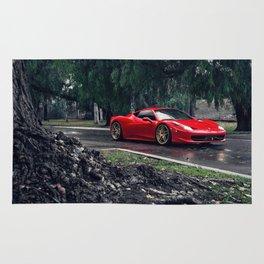 Ferrari458 Italy Rug