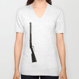 This Town Ain't Big Enough for Both of Us Unisex V-Neck