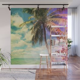 Prismatic Palm Wall Mural
