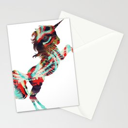 Unicorn Meets Lion Stationery Cards