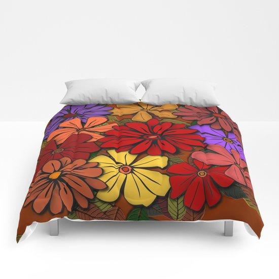 Flower Power #2 Comforters
