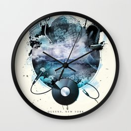 The Essence of Queens Wall Clock