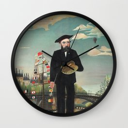 Myself: Portrait – Landscape Wall Clock