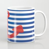 sailor Mugs featuring Sailor.. by PearGraphics