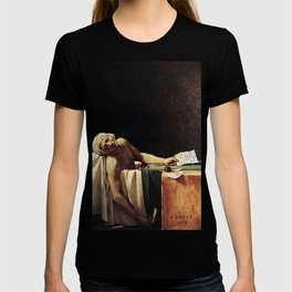 Death of Marat by - Jacques-Louis David T-shirt