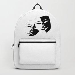 Comedy & Tragedy Drama Masks Backpack
