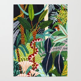 The Jungle at Midnight Poster