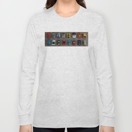 1980's Toy Cars Long Sleeve T-shirt
