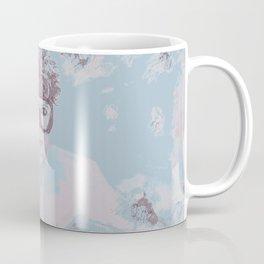 Free Diver Negative Coffee Mug