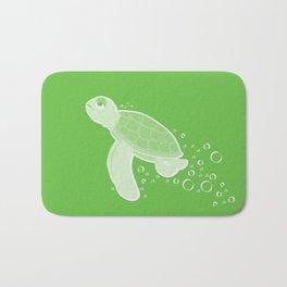 Apathetic Turtle Bath Mat