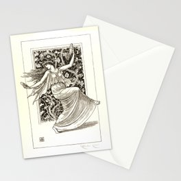 """Gustave Moreau """"Dancing Nymph (Nymphe Danseuse)"""" Stationery Cards"""