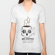 No Coffee No Life Unisex V-Neck