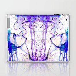 Dissolve into the sky Laptop & iPad Skin