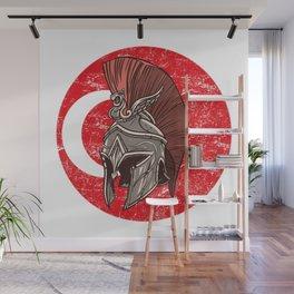 Turkey Turkish Spartan  TShirt Warrior Shirt Flag Gift Idea Wall Mural