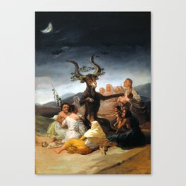 Francisco Goya Witches' Sabbath Canvas Print