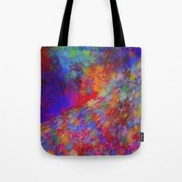 Floral Avenue Tote Bag
