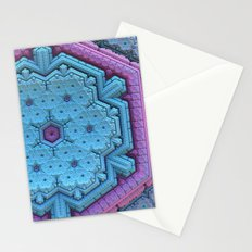 Pastel Snowflake Stationery Cards