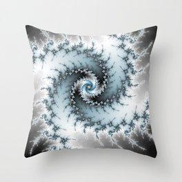 Fractal Vortex Throw Pillow