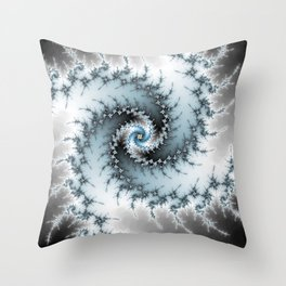 Fractal Vortex Throw Pillow