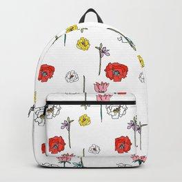 Sasha's Flowers Backpack