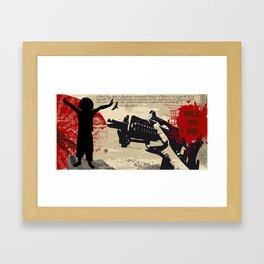 Droits de l'Homme - Article 1 Framed Art Print