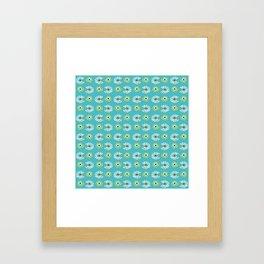 Turtle Back Framed Art Print