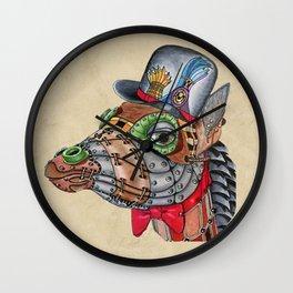 Steampunk G Wall Clock
