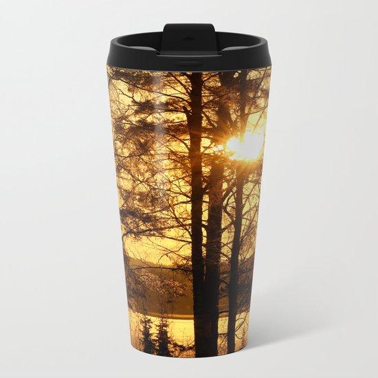 Good Morning!  Metal Travel Mug