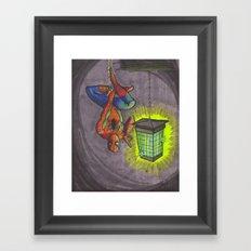 Zap Framed Art Print
