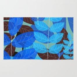 Exotic Blue Rug