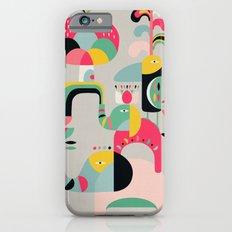 Jungle of elephants Slim Case iPhone 6s