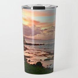 Sunset in Paia Travel Mug